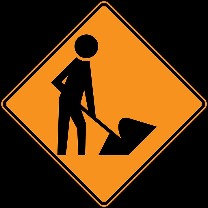 panneau en construction