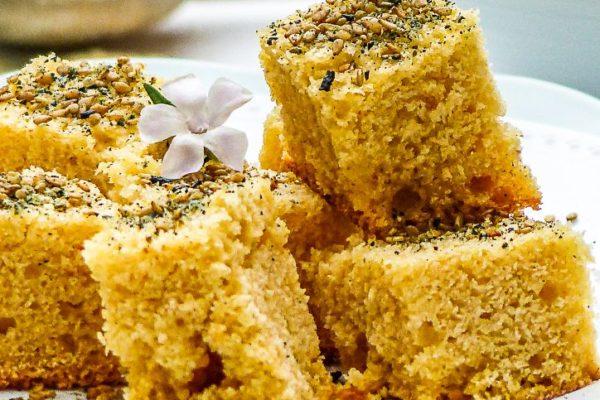 Recette du pain de maîs végétalien à la gomaline