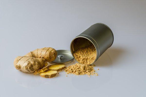 Gingembre bio naturel et en poudre