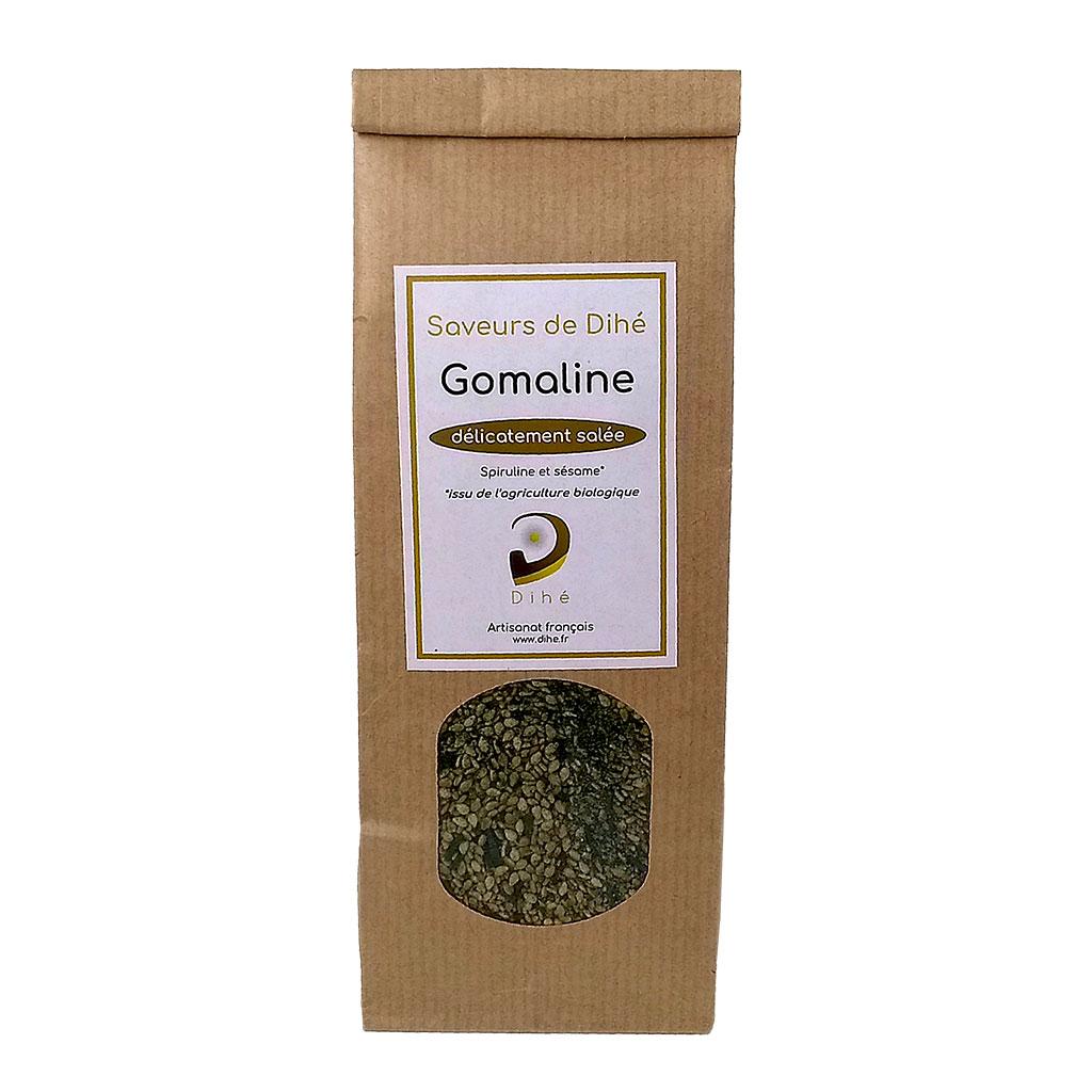 Condiment à la spiruline et aux graines de sésame