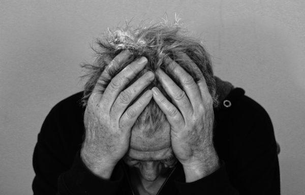 Photo d'un individu souffrant de carences alimentaires
