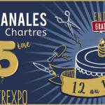 Bannière du salon Les artisanales de chartres auquel Dihé participera