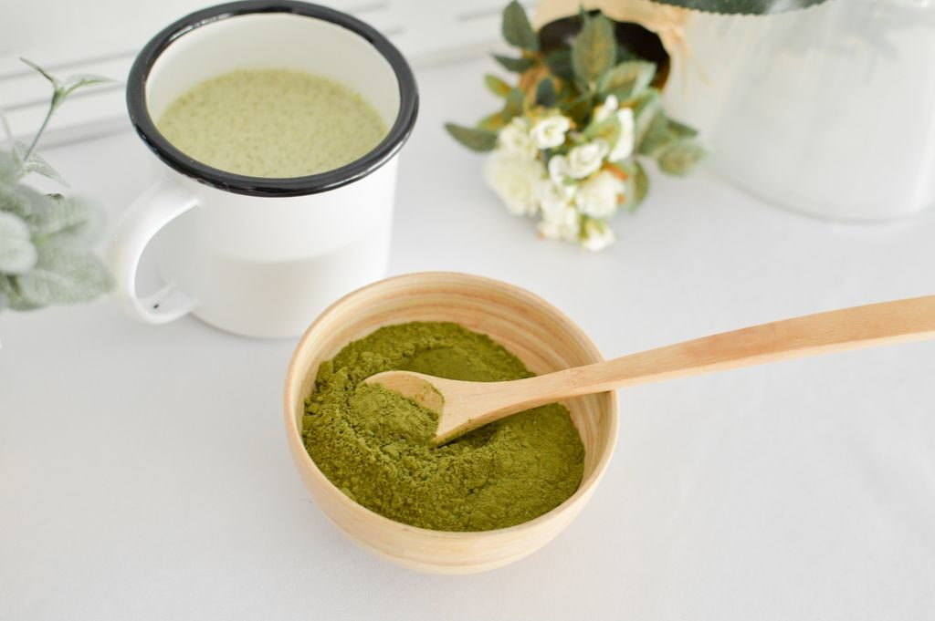 Photo de la recette du matcha & moringa latte