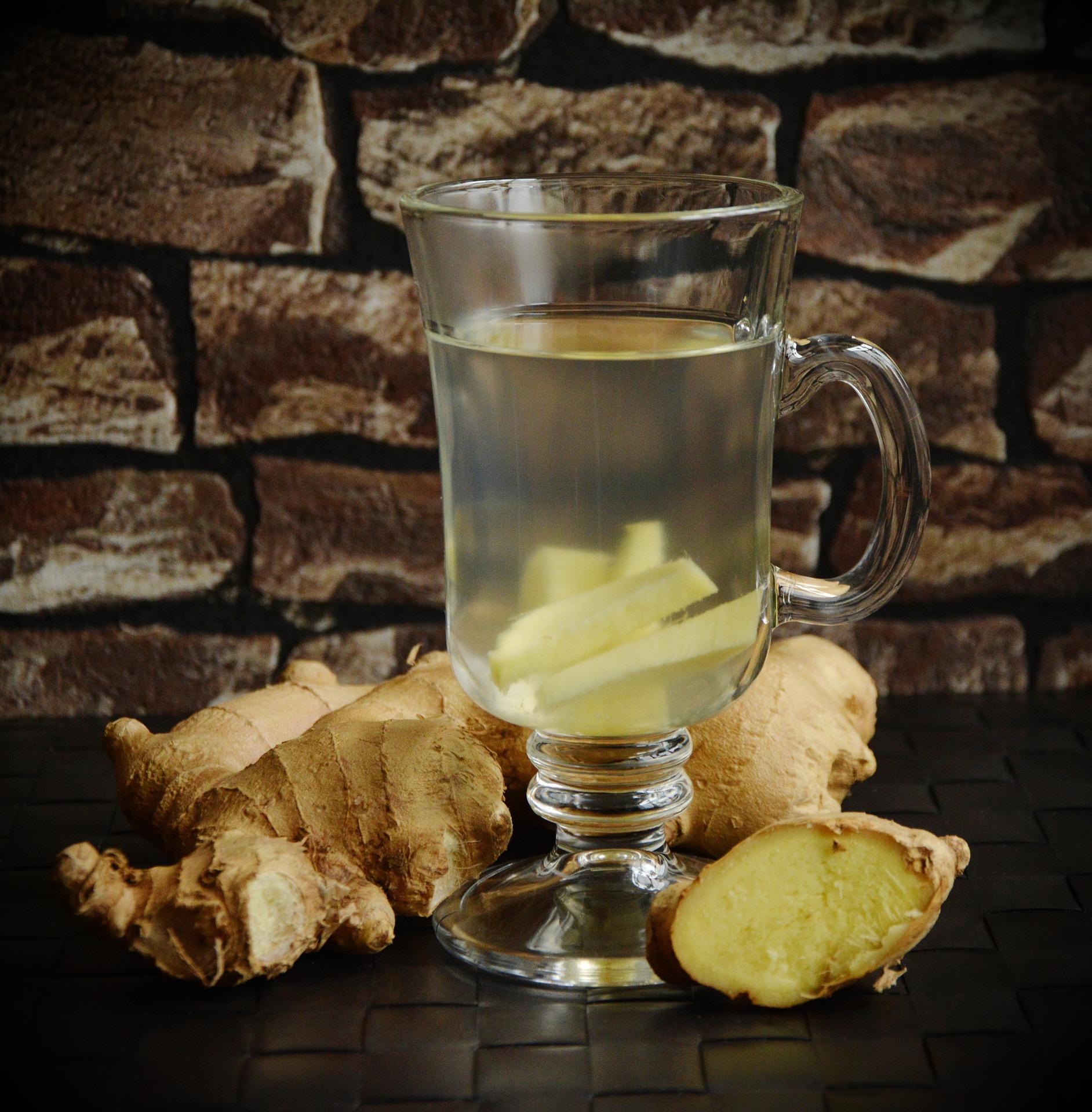 Thé de moringa et gingembre pour décupler les bienfaits