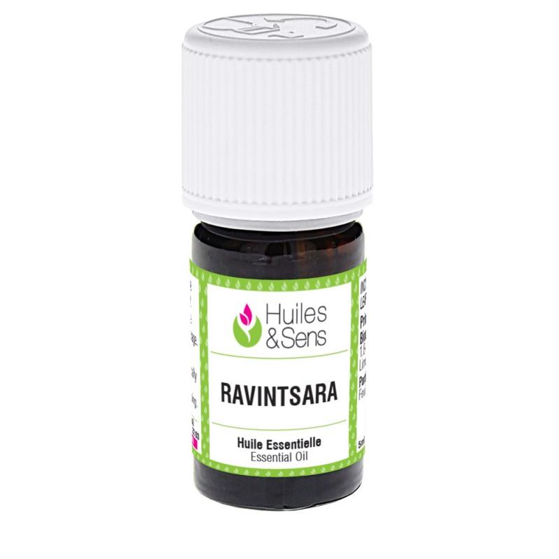 Flacon d'huile essentielle de Ravintsara bio - ravintsare