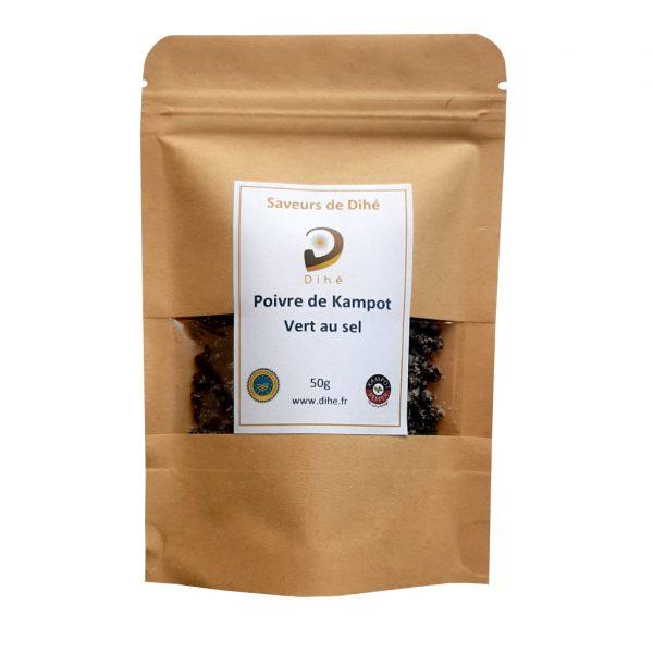 Acheter du poivre vert de Kampot Dihé sur notre boutique en ligne