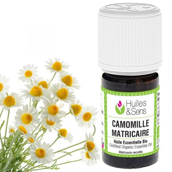 huile essentielle de camomille matricaire