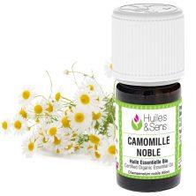 huile essentielle de camomille noble bio