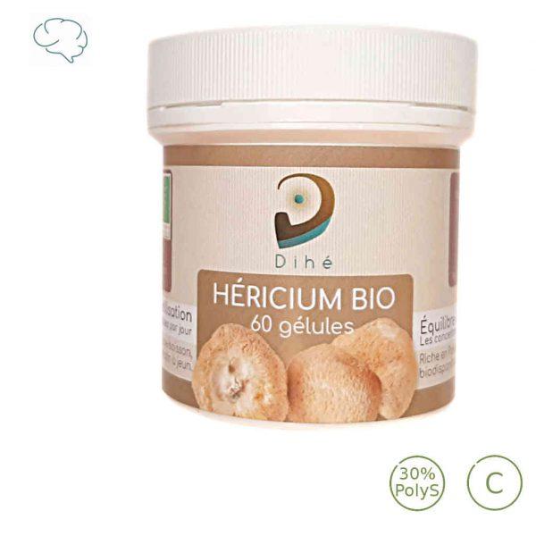 Acheter de l'Hericium bio riche en polysaccharides Dihe